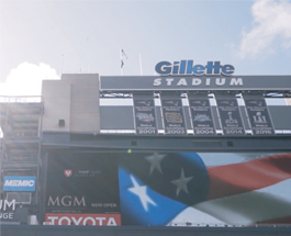 Gillette Stadium made the switch to XLERATOR