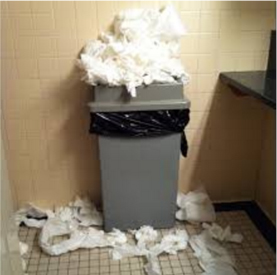 Paper Towel Dispensers In Commercial Restrooms