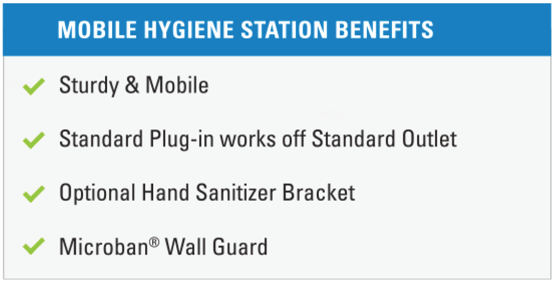 benefits of mobile hand hygiene