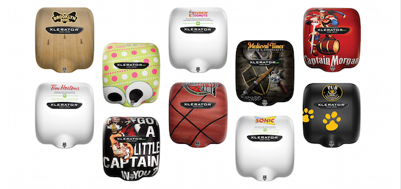 Custom Electric Hand Dryer Covers for Restaurants