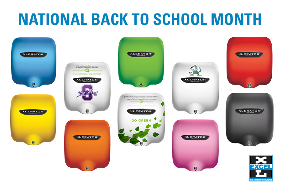 Schools are Going Green with Hand Dryers