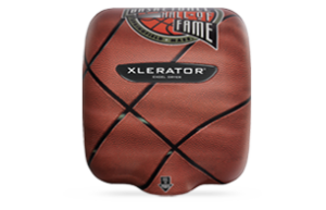 XLERATOR Hand Dryer Custom Cover - Basketball