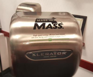 Made in America Hand Dryer - Made In Mass Cover