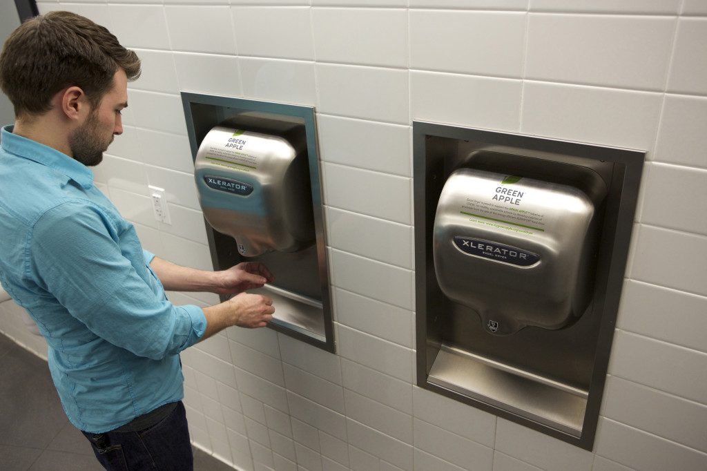 Excel Hand Dryer with ADA Compliant Recess Kit