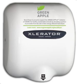 Green Apple Hand Dryer