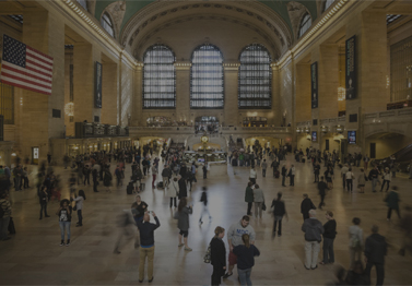 Grand Central terminal keeps guests hand hygiene in mind