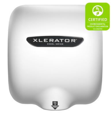 XLERATOR XL-BW Hand Dryer White Thermoset (BMC) Cover